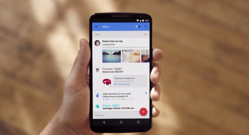 Exclusivo para celulares e tablets, Inbox serviu como celeiro de inovações que chegam agora ao Gmail (Imagem: Divulgação/Google)