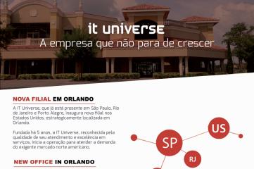 IT Universe, a empresa que não para de crescer