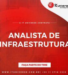 ANALISTA DE INFRAESTRUTURA